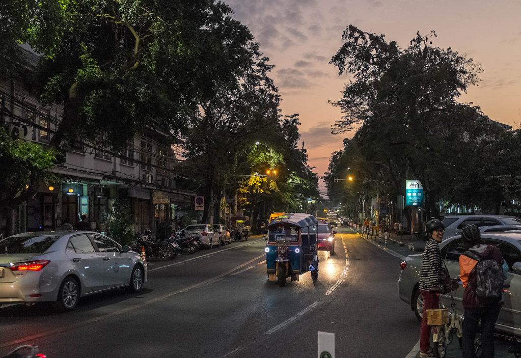 Bangkok Streets by Night