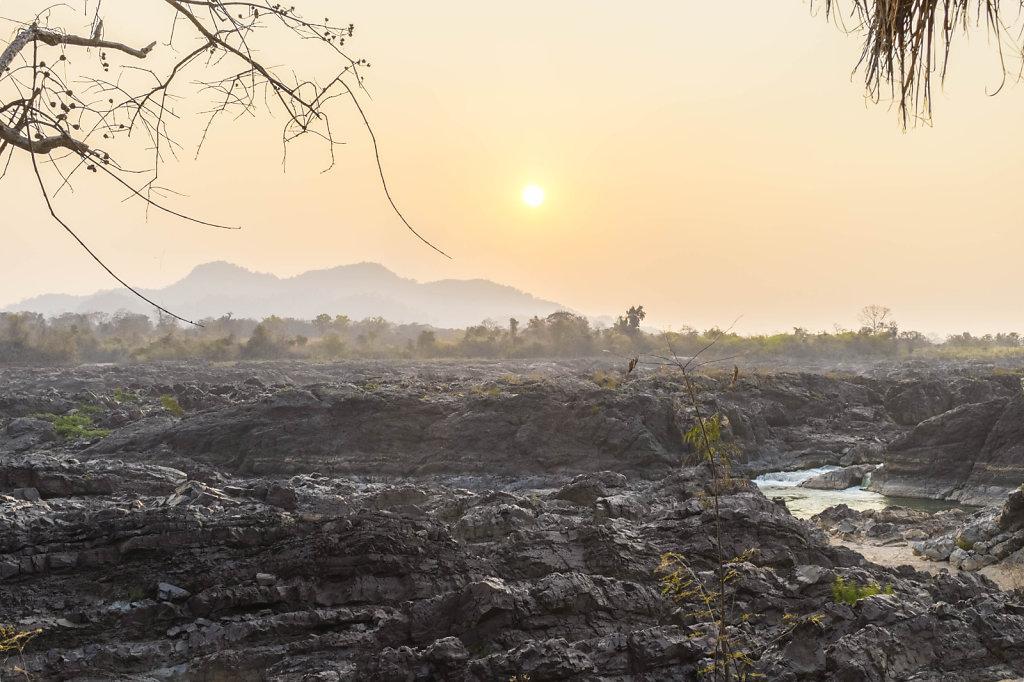Don Khon Sunset