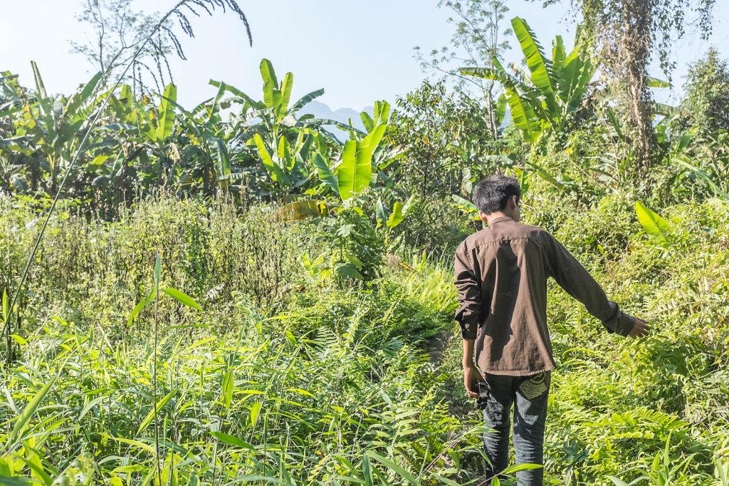 Guide near Vang Vieng