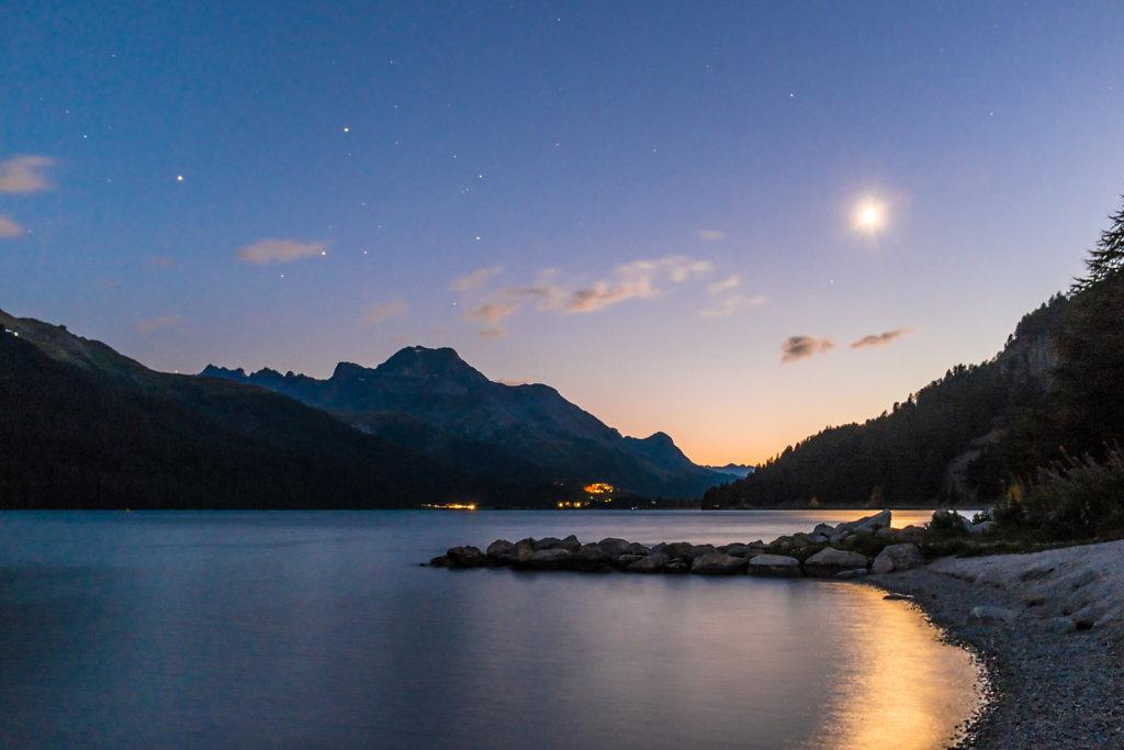Lake Silvaplana Night